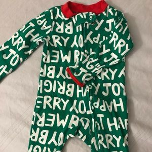 Carters XMas bodysuit only worn once
